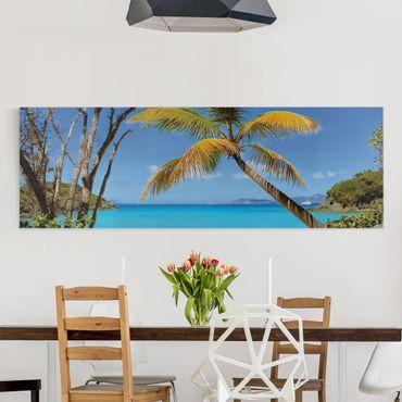 Stampa su tela - Les Seychelles - Panoramico