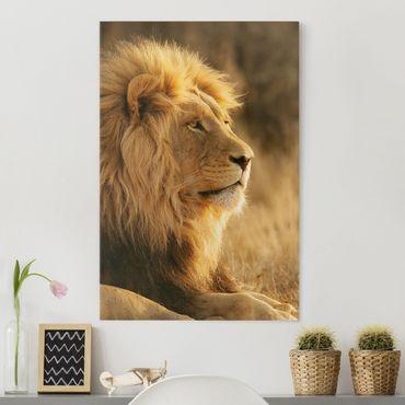 Stampa su tela Lion King - Verticale 2:3