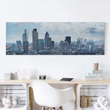 Stampa su tela - London Skyline - Panoramico