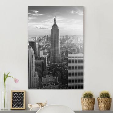 Stampa su tela Manhattan skyline - Verticale 2:3