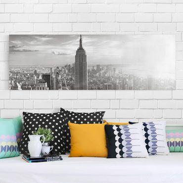 Stampa su tela - Manhattan Skyline - Panoramico