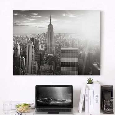 Stampa su tela - Manhattan Skyline - Orizzontale 4:3