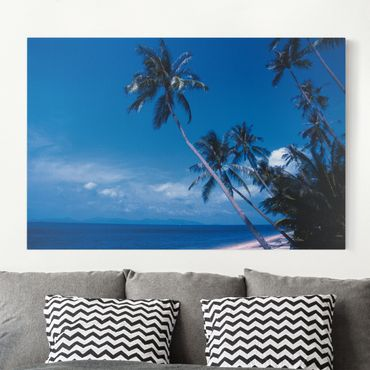 Stampa su tela - Mauritius Beach - Orizzontale 3:2