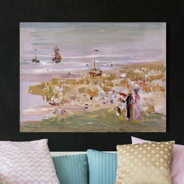 Stampa su tela - Max Liebermann - The Beach, Scheveningen - Orizzontale 4:3