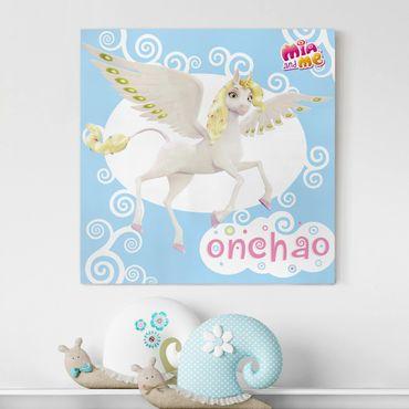 Stampa su tela - Mia And Me - Unicorn Onchao - Quadrato 1:1
