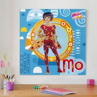 Stampa su tela - Mia And Me - Elf Mo - Quadrato 1:1