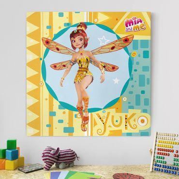Stampa su tela - Mia And Me - Elfe Yuko - Quadrato 1:1