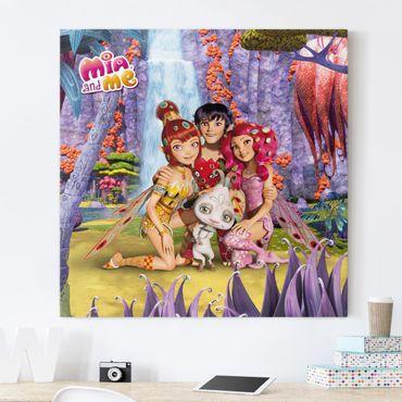 Stampa su tela - Mia And Me - Mia And Friends - Quadrato 1:1