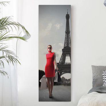 Stampa su tela - Mode De La Paris - Pannello