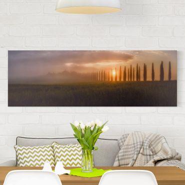 Stampa su tela - Alba Toscana - Panoramico