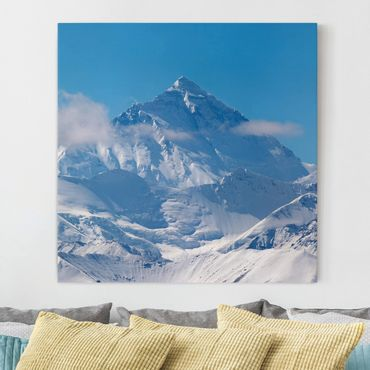 Stampa su tela - Mount Everest - Quadrato 1:1