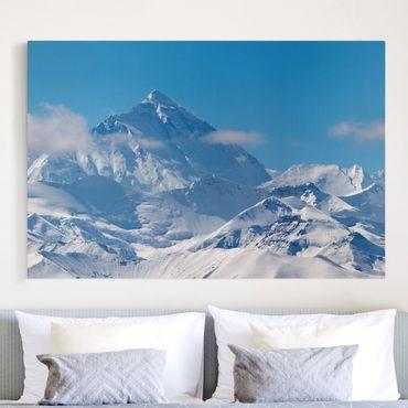 Stampa su tela - Mount Everest - Orizzontale 3:2