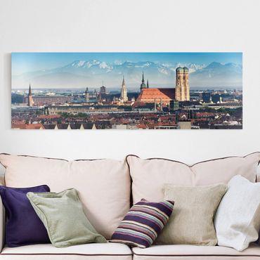Stampa su tela - Munich - Panoramico