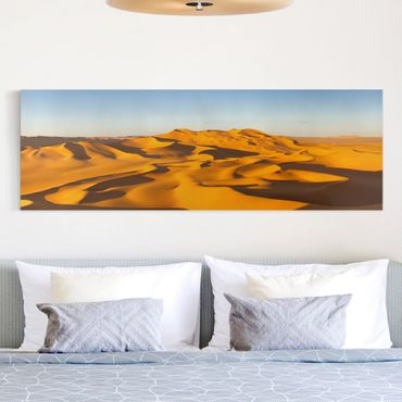 Stampa su tela - Murzuq Desert In Libya - Panoramico