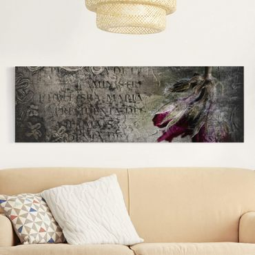 Stampa su tela - Mystic Flower - Panoramico