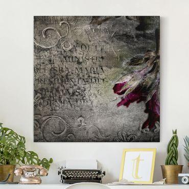 Stampa su tela - Mystic Flower - Quadrato 1:1