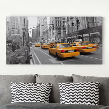 Stampa su tela - New York, New York! - Orizzontale 2:1