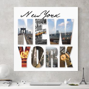 Stampa su tela - New York Impressions - Quadrato 1:1
