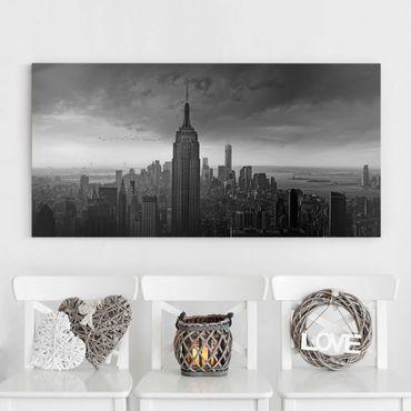 Stampa su tela - New York Rockefeller View - Orizzontale 2:1