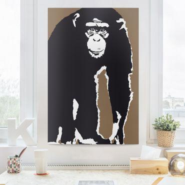 Stampa su tela No.TA10 Chimpanzee - Verticale 2:3