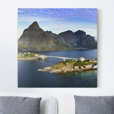 Stampa su tela - Nordic Paradise - Quadrato 1:1