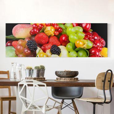 Stampa su tela - Fruit Mix - Panoramico