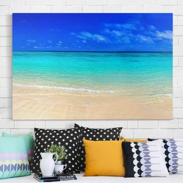 Stampa su tela - Paradise Beach I - Orizzontale 3:2