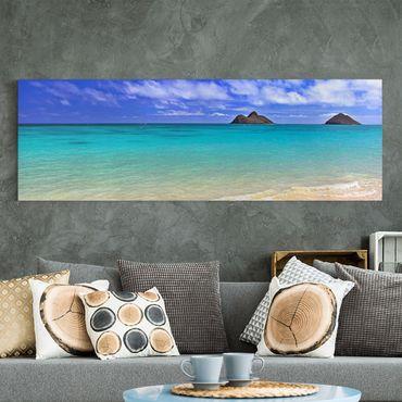 Stampa su tela - Paradise Beach - Panoramico