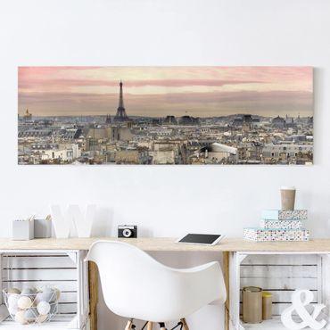 Stampa su tela - Paris Close - Panoramico