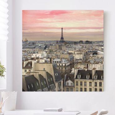 Stampa su tela - Paris Close - Quadrato 1:1
