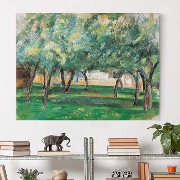 Stampa su tela - Paul Cézanne - Fattoria in Normandia - Orizzontale 4:3