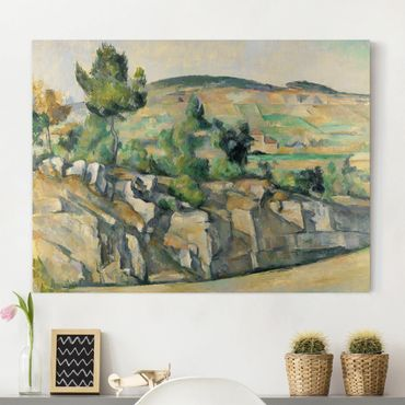 Stampa su tela - Paul Cézanne - Collina in Provenza - Orizzontale 4:3