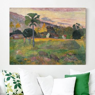 Stampa su tela - Paul Gauguin - Haere mai - Orizzontale 4:3