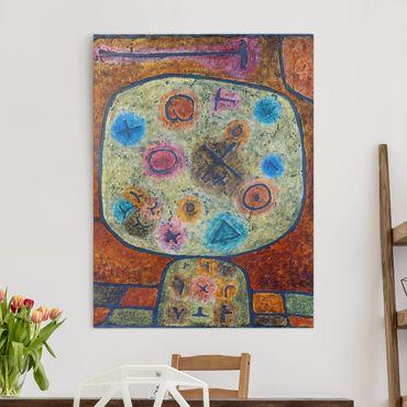 Stampa su tela - Paul Klee - Fiori in Pietra - Verticale 3:4