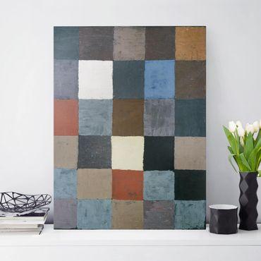 Stampa su tela - Paul Klee - Grafico a Colori (in Grigio) - Verticale 3:4