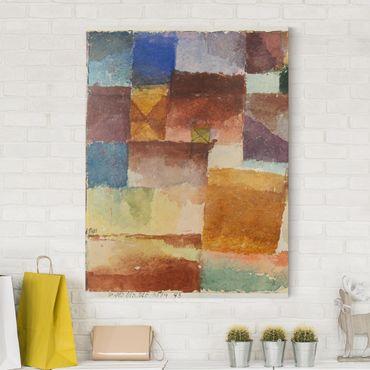 Stampa su tela - Paul Klee - Nel Deserto - Verticale 3:4