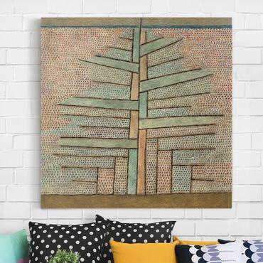 Stampa su tela - Paul Klee - Pine - Quadrato 1:1