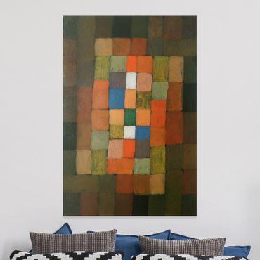 Stampa su tela Paul Klee - Statico-dinamico Aumento - Verticale 2:3