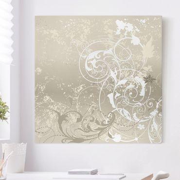 Stampa su tela - Nacre Ornament Design - Quadrato 1:1