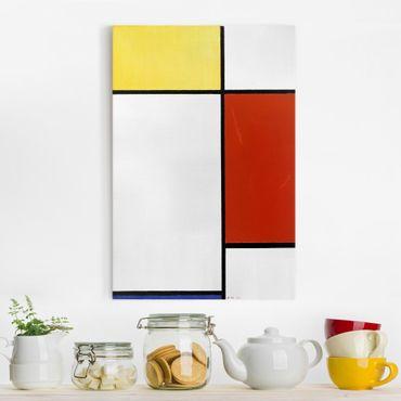 Stampa su tela Piet Mondrian - Composizione I - Verticale 2:3