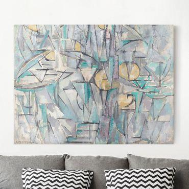 Stampa su tela - Piet Mondrian - Composizione X - Orizzontale 4:3