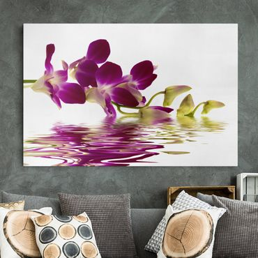 Stampa su tela - Pink Orchid Waters - Orizzontale 3:2