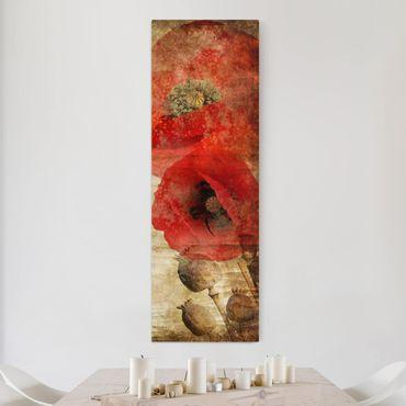 Stampa su tela - Poppy Flower - Pannello