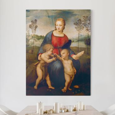 Stampa su tela - Raffael - Madonna del Cardellino - Verticale 3:4