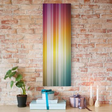 Stampa su tela - Rainbow Light - Pannello