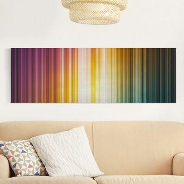 Stampa su tela - Rainbow Light - Panoramico