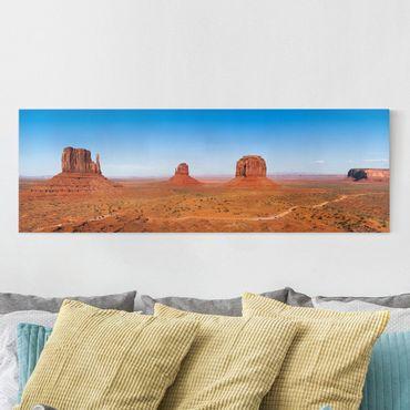 Stampa su tela - Rambling Colorado Plateau - Panoramico