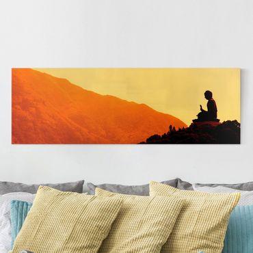 Stampa su tela - Resting Buddha - Panoramico