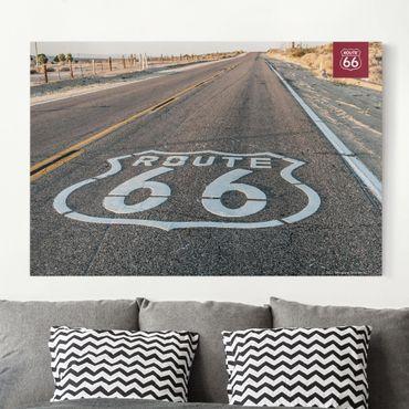 Stampa su tela - Route 66 - Road Trip Prairie - Orizzontale 3:2