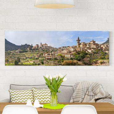 Stampa su tela - Rural Valldemossa - Panoramico
